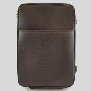 Preowned LV Pegase 55 Brown Taïga Leather Luggage